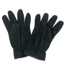 gants polaires unis noir