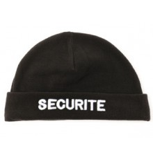 bonnet brodé securité