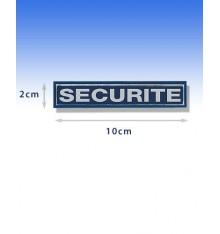 barrette retroréfléchissante sécurité