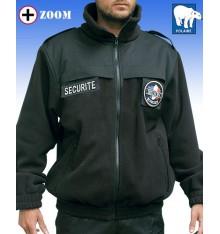 blouson polaire sécurité noir  DCA