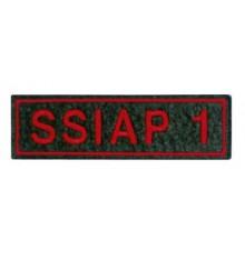 ecussons S.S.I.A.P  1 rectangle