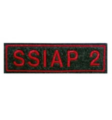 ecussons S.S.I.A.P  2 rectangle