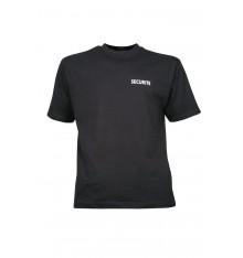 t shirt imprimé securité noir CITYGUARD