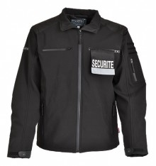 blouson softshell sécurité cityguard