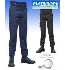 pantalon d'intervention platinium performance noir