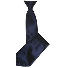 cravate a clip noire