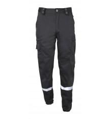 Pantalon ACTION avec bandes rétro-réfléchissantes